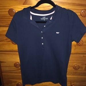 Vineyard Vines Navy Blue Polo!